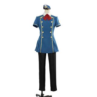 ◆試作版·10点限定◆ MARGINAL#4 「熱愛(REDHOT)SAGA」 藍羽 ルイ(あいば ルイ) コスプレ衣装