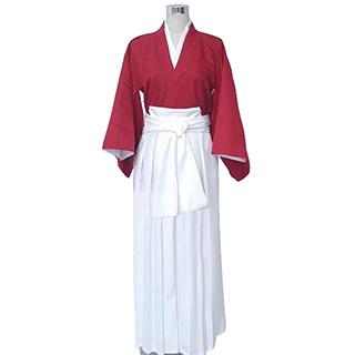 るろうに剣心 -明治剣客浪漫譚- 緋村 剣心(ひむら けんしん) 赤服 コスプレ衣装
