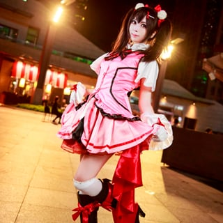 Love Live! KiRa-KiRa Sensation!Happy maker! Nico Yazawa Cosplay Costume