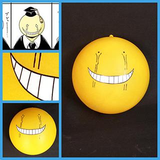 暗殺教室 殺せんせー(ころせんせー) 黄色 泣き顔 マスク コス用具 コスプレ道具