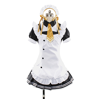 Love Live! Café Maid Nico Yazawa Cosplay Costume
