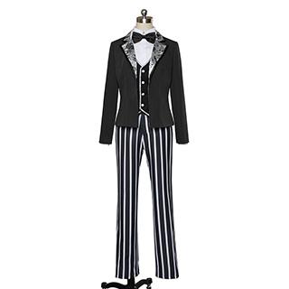 ◆試作版·10点限定◆ うたの☆プリンスさまっ♪ Shining Circus 黒崎 蘭丸(くろさき らんまる) コスプレ衣装