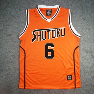 黒子のバスケ 秀徳高校 緑間 真太郎(みどりま しんたろう) 6番 ユニフォーム コスプレ衣装