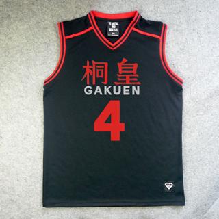 黒子のバスケ 桐皇学園高校 今吉 翔一(いまよし しょういち) 4番 ユニフォーム コスプレ衣装
