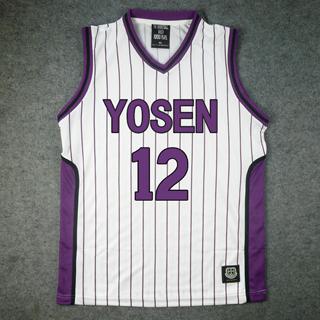 黒子のバスケ 陽泉高校 氷室 辰也(ひむろ たつや) 12番 ユニフォーム コスプレ衣装