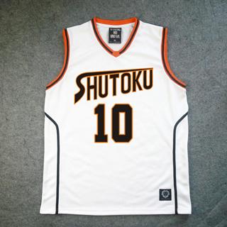 黒子のバスケ 秀徳高校 10番 高尾 和成(たかお かずなり) ユニフォーム コスプレ衣装
