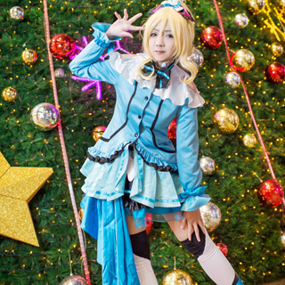 Love Live KiRa-KiRa Sensation Eli Ayase Cosplay Costume