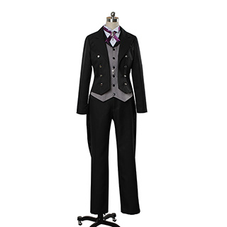 Black Butler:Book of Circus Sebastian Michaelis Cosplay Costume