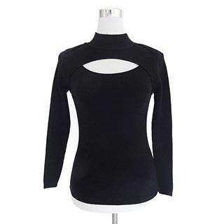 萌える セクシー レディースファッション 胸開きタートルネック 黒/灰/白/赤 4色選択可 コス用具 コスプレ道具
