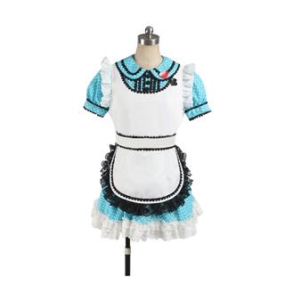 アイドルマスター THE IDOLM@STER 四条貴音(しじょう たかね) メイド コスプレ衣装