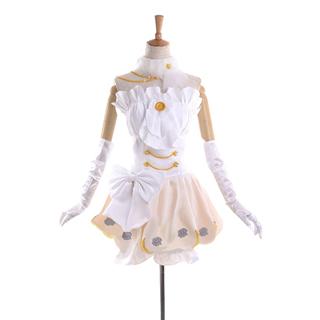 ラブライブ! スクフェス ウェディングドレス編 SR 覚醒後 星空凛(ほしぞら りん) コスプレ衣装