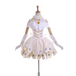 ラブライブ! スクフェス ウェディングドレス編 SR 覚醒後 西木野真姫(にしきの まき) コスプレ衣装