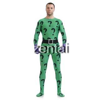 通気 柔らかい セクシー スパイダーマン リドラー ライクラ ハロウィン 全身タイツ