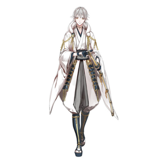 ◆5点限定・予約商品◆ 刀剣乱舞 太刀男士 鶴丸国永(つるまるくになが) コスプレ衣装