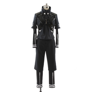 ◆試作版·10点限定◆ 東京喰種トーキョーグール 金木研/白カネキ/ムカデ ブラック コスプレ衣装