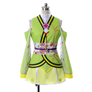 love live! The School Idol Movie Rin Hoshizora Cosplay Costumes