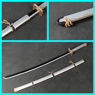 刀剣乱舞 太刀男士 鶴丸国永 模造刀 コス用具 コスプレ道具