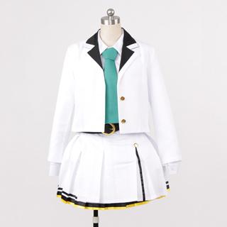 ツキウタ。 後半女神候補生 Seleas 6月 照瀬結乃(てらせ ゆの) 制服 コスプレ衣装