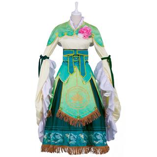ラブライブ!スクフェス 小泉花陽 七福神編  幸せの神様 コスプレ衣装