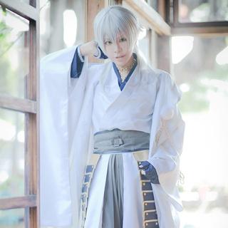 ◆試作版·10点限定◆ 刀剣乱舞 太刀男士 鶴丸国永(つるまる くになが) コスプレ衣装