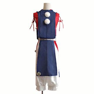 刀剣乱舞 短刀男士 今剣 内番風 コスプレ衣装