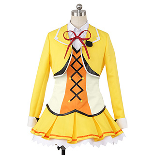 Love Live The School Idol Movie Rin Hoshizora Cosplay Costume