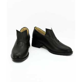 艦隊これくしょん -艦これ-  熊野(くまの) 合皮 ゴム底 コスプレ靴