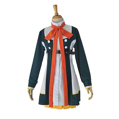 ツキウタ。 12月~5月 女性キャラ 制服風 聖クリス コスプレ衣装