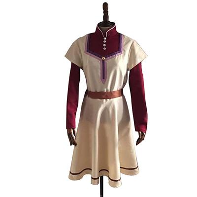 赤髪の白雪姫  白雪(しらゆき) ワンピース コスプレ衣装