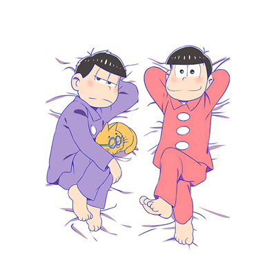 おそ松さん 松野 おそ松と松野 一松 等身大抱き枕カバー、オリジナル抱き枕カバー、アニメ抱き枕
