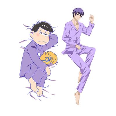 おそ松さん 松野 一松 等身大抱き枕カバー、オリジナル抱き枕カバー、アニメ抱き枕