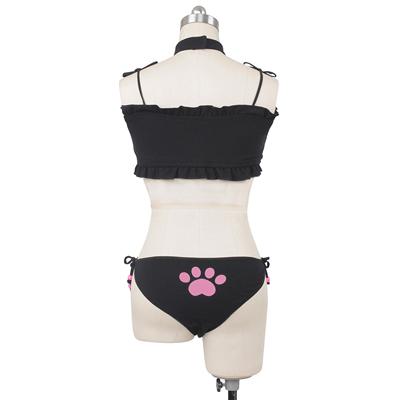 猫ちゃん 開胸ブラジャー  下着  コスプレ衣装