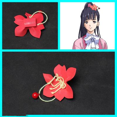 甲鉄城のカバネリ 四方川菖蒲(よもかわ あやめ) 髪飾り  コスプレ道具