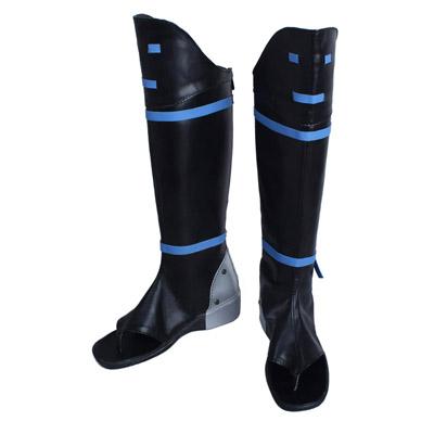 甲鉄城のカバネリ 無名(むめい)戦闘時 低ヒール 合皮 ゴム底 コスプレ靴