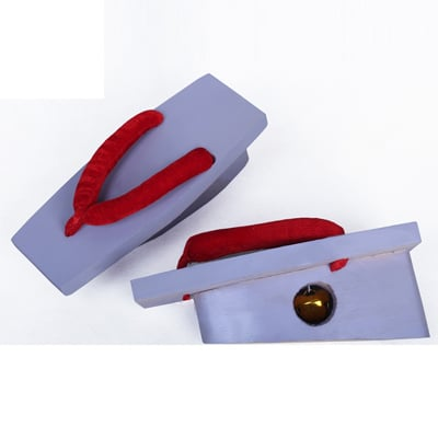 ◆5点限定・予約商品◆ 甲鉄城のカバネリ 無名(むめい) スリッパ 合皮 ゴム底 コスプレ靴 Ver.2