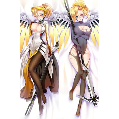オーバーウォッチ マーシー (Mercy)  等身大抱き枕カバー、アニメ抱き枕、オリジナル抱き枕カバー