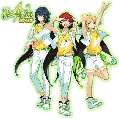 ◆10点限定・予約商品◆ あんさんぶるスターズ!(Ensemble Stars!) switchスウィッチ 全員 コスプレ衣装