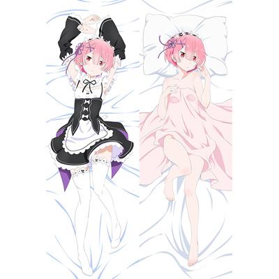 Re:ゼロから始める異世界生活 ラム 等身大抱き枕カバー、オリジナル抱き枕カバー、アニメ抱き枕
