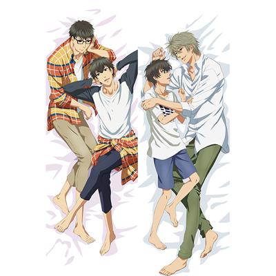 SUPER LOVERS      海棠零/海棠晴            等身大抱き枕カバー、オリジナル抱き枕カバー、アニメ抱き枕