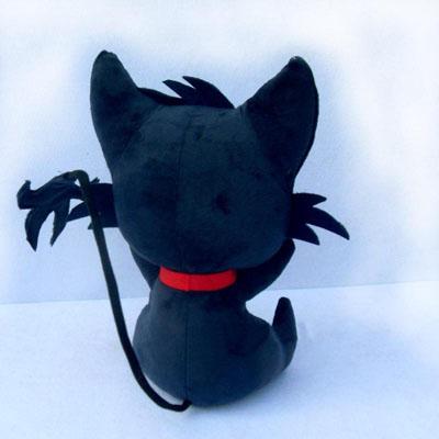 SERVAMP -サーヴァンプ-   黒猫/縫いぐるみ     コスプレ道具  ver.2