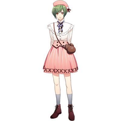 ◆5点限定・予約商品◆ A3!(エースリー)  夏組   瑠璃川幸(るりかわゆき)  コスプレ衣装