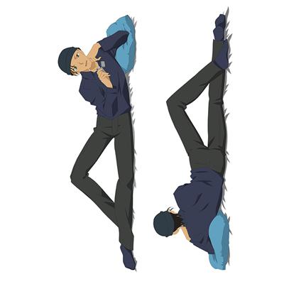 名探偵コナン   赤井秀一(あかいしゅういち)/赤コ   等身大抱き枕カバー、オリジナル抱き枕カバー、アニメ抱き枕