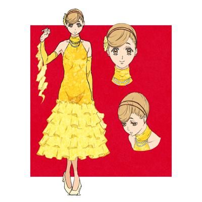 ◆5点限定・予約商品◆ ボールルームへようこそ   赤城真子(あかぎ まこ)   コスプレ衣装