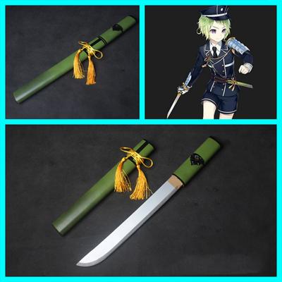 刀剣乱舞      短刀   毛利藤四郎   刀+鞘    コスプレ道具