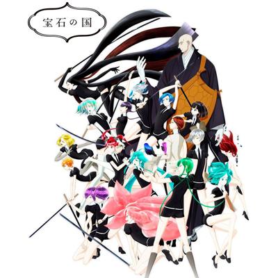 ◆10点限定・予約商品◆ 宝石の国  全員  コスプレ衣装 予約開始!