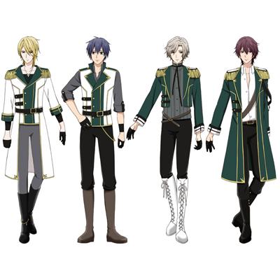 ◆10点限定・予約商品◆ TSUKIPRO THE ANIMATION  Growth/グロース 全員    コスプレ衣装 予約開始!