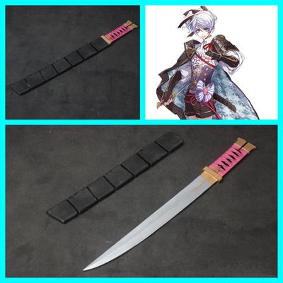 戦刻ナイトブラッド/戦ブラ   森蘭丸  刀+鞘  コスプレ道具