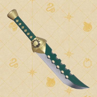 七つの大罪  戒めの復活   メリオダス 模造刀  コス用具  コスプレ道具