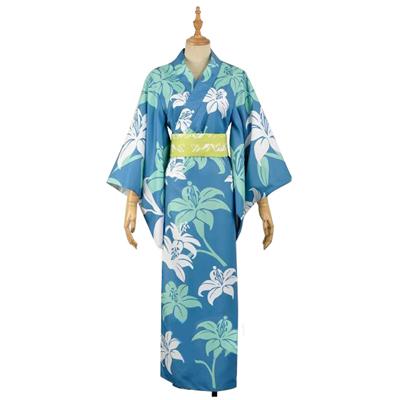 A3!(エースリー)夏祭り 夏組  瑠璃川幸(るりかわゆき)   和服 着物 コスプレ衣装