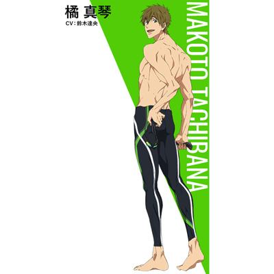 ◆5点限定・予約商品◆ Free! Dive to the Future   橘真琴(たちばな まこと)  水泳パンツ  コスプレ衣装